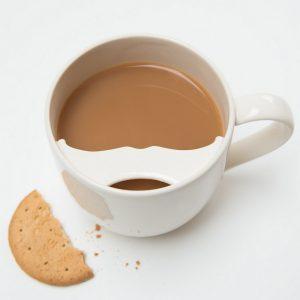 Tasse à Moustache avec rebord Protecteur - Captain Fawcett
