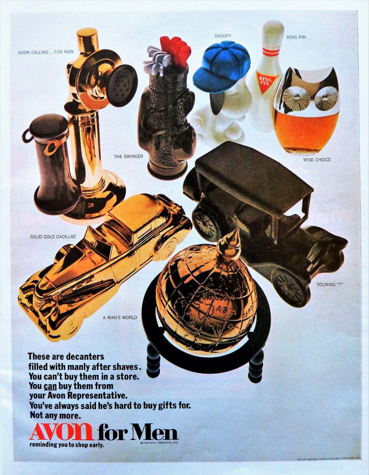 Publicité Avon 1969