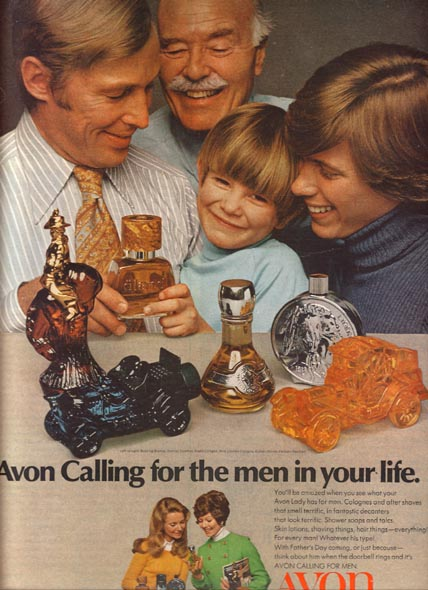 Publicité Avon 1971
