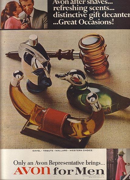 Publicité Avon 1968