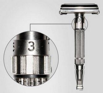 Rasoir Gillette Adjustable - Modèle Toggle