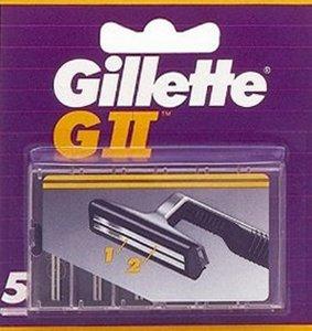 Paquet de lames Gillette de rasoir GII.