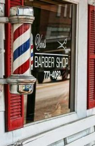 Vitrine de Barbershop