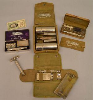 Les rasoirs Gillette de la première guerre mondiale.