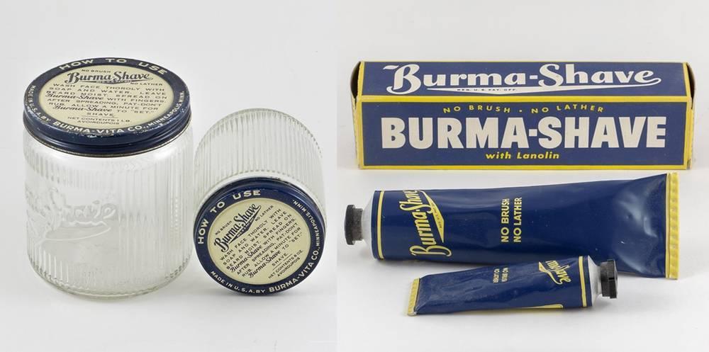 Produits Burma-Shave