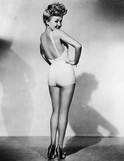 Betty Grable, pin-up des années 1940