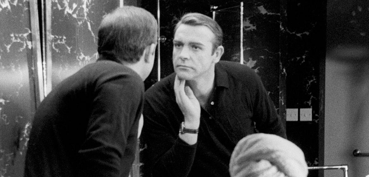 James Bond - Sean Connery Miroir